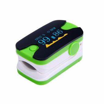 YL-89 Fingertip Pulse Oximeters SPO2 Monitor Home Health Care (Green) - Intl