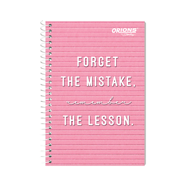 Image of Orions Memo Notebook Felt Board Quotes 4'' x 6'' Set