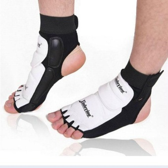 1pair Ankle Brace Support Pad Guard Foot Gloves Protection MMA/Muay Thai/Boxing - intl