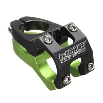 28.6/31.8mm MTB BMX Cycling Bicycle Mountain Bike Aluminium Alloy Handlebar Stem Green -