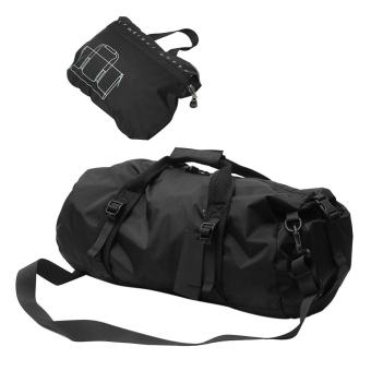 360DSC Foldable Lightweight Sports Gear Waterproof Travel DuffelGym Sports Bag - Black/S Price Philippines