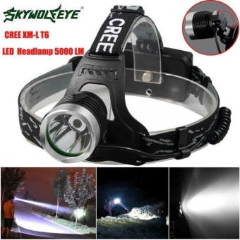 5000 Lm CREE XM-L XML T6 LED Headlamp Headlight flashlight head light lamp 18650 - intl