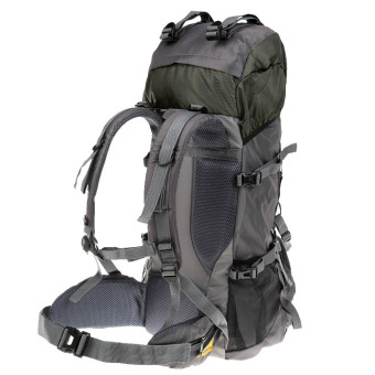 55L Outdoor Sport Backpack Hiking Trekking Bag Camping Travel Water-resistant Pack Mountaineering Climbing Knapsack