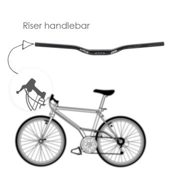 Aluminum Alloy Cycling MTB Mountain Bike Riser Handlebar 31.8 * 620mm - intl