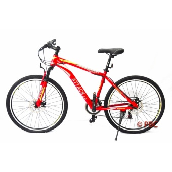 Attack 2.0 Raceface Mountain Bikes Discbrakes (Red) MTB Price Philippines