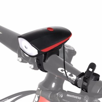 Bike Horn Light - Ultra Loud 140 db 5 Sound Mode Cycling Horn and 250 Lumens