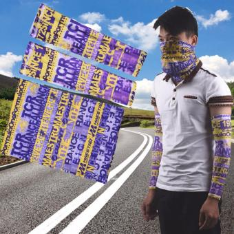 Bike Motor Windproof Sport Scarf Half Face Mask Cycling Arm Sleeves Men Women Outdoor Sun Protective Bicycle Breathable Facemask