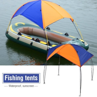 Boat Sun Shelter Sailboat Awning Cover Fishing Tent Sun Shade (4persons) - intl