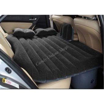 Car Travel Inflatable Air Bed Mattress Outdoor Sofa (Black)