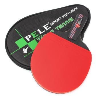 Carbon Fiber Table Tennis Racket Ping Pong Paddle Bat Long Short Handle With Bag Straight grip - intl Price Philippines