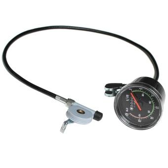 Classical Mechanical Bike Cycling Odometer Stopwatch Waterproof Speedometer - intl