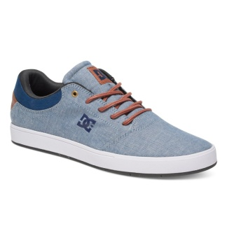DC Men's Crisis Tx Low Cut (Indigo Dark Worn)