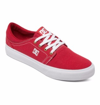 DC Men's Trase Tx Low Cut (Red/White)