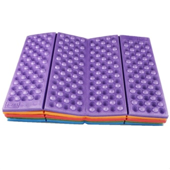 Foldable Folding Outdoor Camping Mat Seat Moisture Proof XPECushion Portable Waterproof Foam Pads Yoga Chair Picnic Beach Pad -intl
