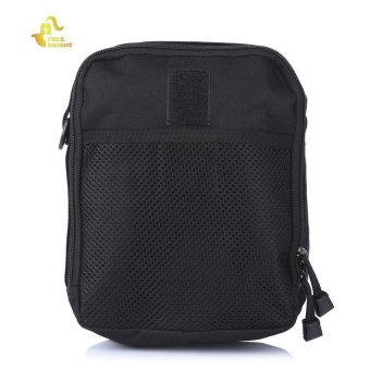 FREEKNIGHT Outdoor Tactical Messenger Bag Single Shoulder Pouch(Black) - intl Price Philippines