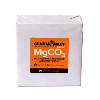 Gear Monkey MgCO3 Magnesium Carbonate Athletic Gym Chalk (2oz.)
