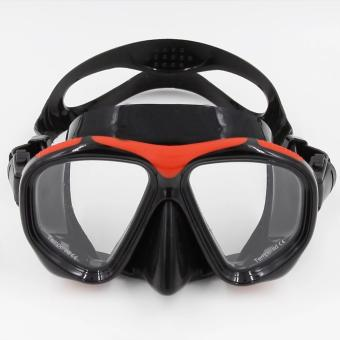 High Quality PVC Swimming Scuba Anti-Fog Goggles Mask Dive DivingGlasses w/ Dry Snorkel Set