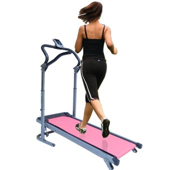 Huijun Fold-able Manual Home Treadmill (Pink) Price Philippines