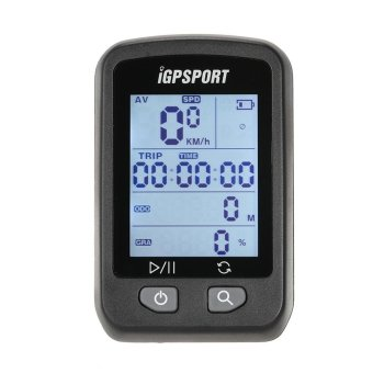 iGPSPORT Rechargeable IPX6 Waterproof Auto Backlight Screen Bike Cycling Cycle Bicycle GPS Computer Odometer with Mount - intl