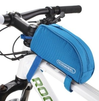 Harga Fortress Cycling Bicycle Outdoor Mountain Front Tube Bag- Blue