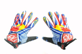 Harga Fortress Motorcycle /Bike Cycling Full Finger Motor Gloves (RB3)