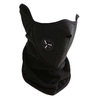 Harga Bicycle Motorcycle Snowboard Ski Cycling Half Face Mask with a Cutout for Nose Breathing Neck Warmer for Men and Women