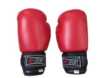 Harga K-Sports Boxing Gloves 10oz (Red)
