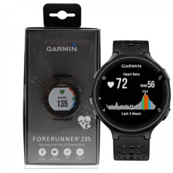 Harga Garmin Forerunner 235 GPS Running Watch w/ Wrist-based HRM Monitor - Black/Gray - intl