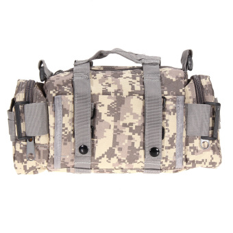 ACU Camo Outdoor Military Tactical Waist Pack Molle Camping Hiking Bag Price Philippines