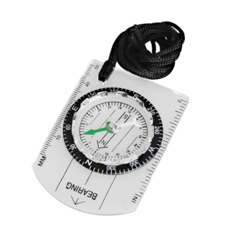 Harga All in One Outdoor Hiking Camping Baseplate Compass