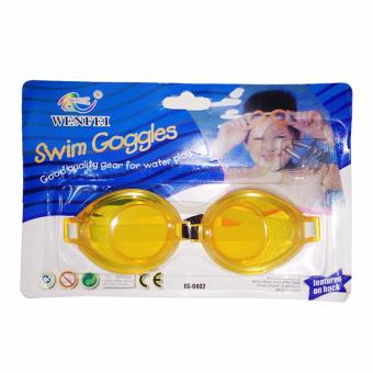 Swim Diving Glasses, Swimming Goggles Eyes Protector with Earplugs (Orange) Price Philippines