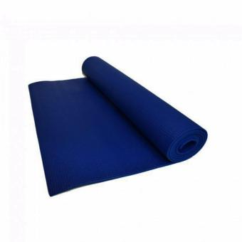 Harga Yoga Mat 3 mm Thick (Dark Blue)