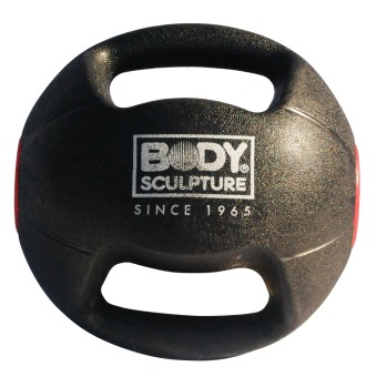 Body Sculpture 8kg Medicine Ball with Handle BW-113M (Black) Price Philippines