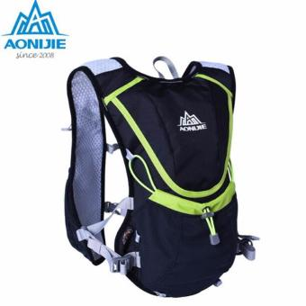Running Cycling Vest Backpack + 2L Bladder Bag Sports Camping Hydration Water Blue - intl Price Philippines