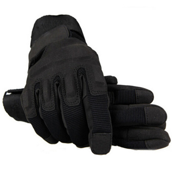 Harga Outdoor Product Hunting Cycling Motorcycle Driving Tactical Hand Gloves (Black)