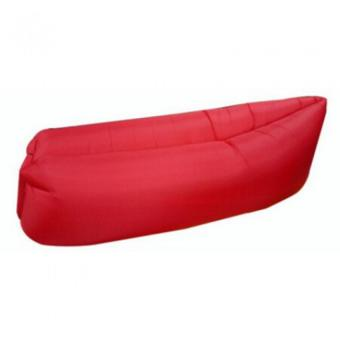 Harga Fast Inflatable Banana Bed Airbed Sleeping Bed/Sofa (Red)