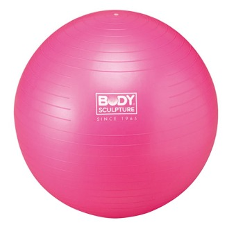 "Body Sculpture Gym Ball w/o Pump BB-001PK-22 ""55 cm"" (Pink) Price Philippines"