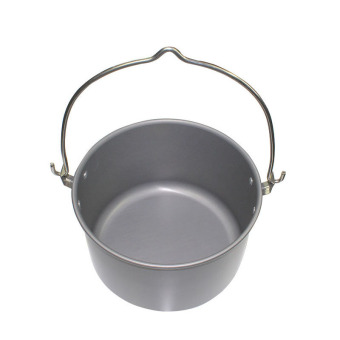 Large picnic pot hanging pot 6-8 people picnic outdoor cookware water pot cooking pot 6L - (Intl) Price Philippines