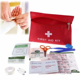 Harga Fortress Mini Emergency Outdoor Camping Sports Medical First Aid Kit
