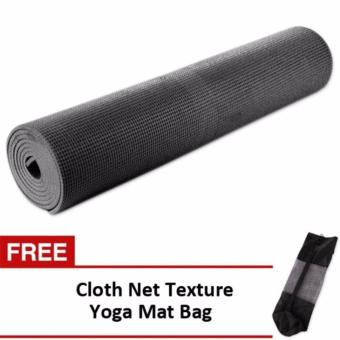 Harga Yoga Mat (Black) Bundle with Yoga Mat Bag