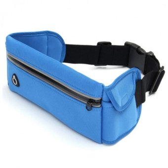 Harga HUG #999 Multi-function Running Belt Bag (Blue)