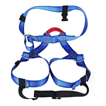 Harness Bust Seat Belt Outdoor Rock Climbing Rappelling Equipment (Blue) Price Philippines