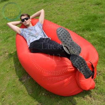 Harga FAST INFLATABLE BANANA BED (RED)