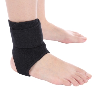 Harga Tightness Elastic Ankle Protector Support Brace Guard Foot - intl