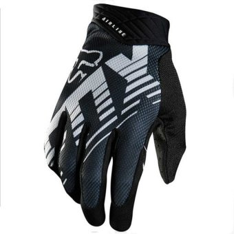 Lucky KTM 2015 New Air Line Motorcycle Racing Glove BMX ATV MTB MX Bicycle Cycling Motocross Gloves-Black - intl Price Philippines
