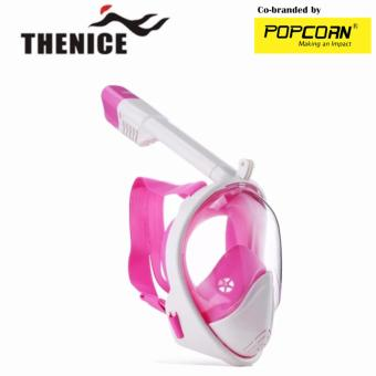 Harga Thenice M2098G Full-Face Snorkeling Ninja Mask with Camera Holder Size S/M
