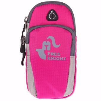 Free Knight Universal Arm Band Bag Case for Running Jogging (Pink) Price Philippines