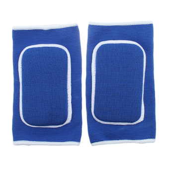 Harga Eozy Sports Sponge Arm Elbow Pad Winter Autumn Thick Keep Warm Elbows Protector Protective Pad For Gym Outdoor Sports (Blue)