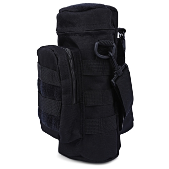 Molle Oxford Water Bottle Pack Tactical Military Pouch (Black) Price Philippines