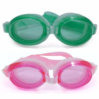 Unisex Swimming Goggles Beach Goggles With Earplugs SET OF 2 Price Philippines